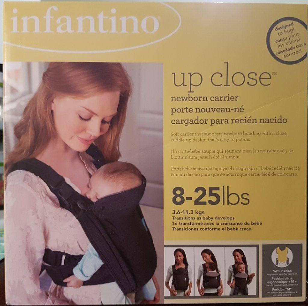 Infantino Up Close Newborn Baby Carrier Deepak S Blog